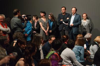 Vernissage Exposition 3ème Scène de l'Opéra national de Paris au Fonds Hélène&Édouard Leclerc pour la culture à Landerneau